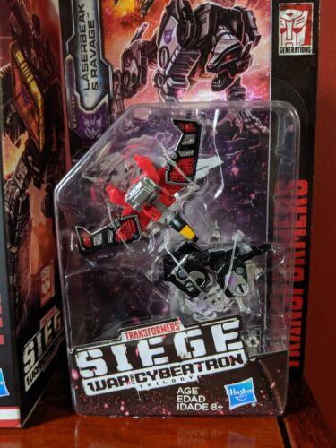 Transformers Siege Soundblaster Spy Patrol Laserbeak Ravage Set Walmart Exclusiv