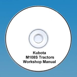 Kubota-M108S-M-108S-Tractor-Workshop-Manual