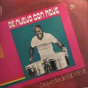 Orquesta-Elio-Reve-De-nuevo-con-Reve-Siboney-Cuba-lp-Latin-Timba-Salsa-Son-Egrem