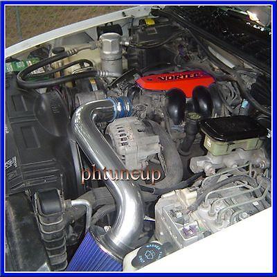 BLUE 1992-1995 CHEVY S10 BLAZER VORTEC CPI 4.3L AIR INTAKE KIT INDUCTION SYSTEM