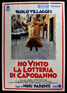 Poster Ich Won Die Lotterie Von Silvester Fantozzi Paolo Dorf M302
