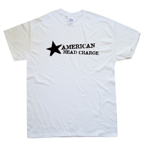 AMERICAN HEAD CHARGE new T-SHIRT sizes S M L XL XXL colours black white