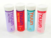 Nuun Active Hydration Tablets Mixed Pack, Box Of 4 Tubes