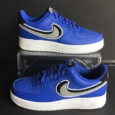 the latest 6357a 6def3 item 4 Nike Air Force 1  07 LV8 Chenille Game Royal Wolf Grey-Black Sz. 9  (823511-409) -Nike Air Force 1  07 LV8 Chenille Game Royal Wolf Grey-Black  Sz. 9 ...