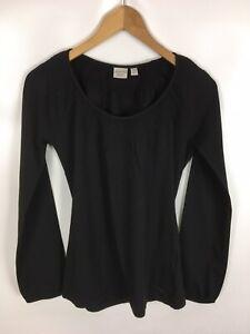 ESPRIT-Shirt-schwarz-Groesse-M-Baumwolle