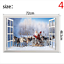 thumbnail 4 - 3D Merry Christmas Wall Decals Removable Window Stickers Decor DIY Art Xmas  *