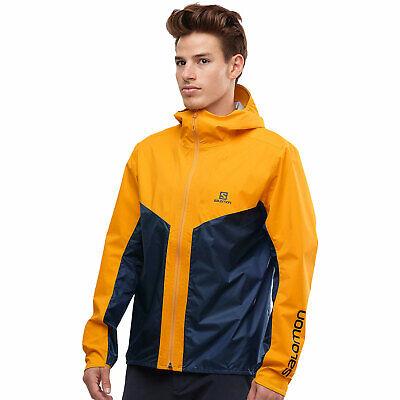 Salomon outspeed Hybrid Jacket Mens Rain Jacket Windbreaker Functional Jacket New | eBay