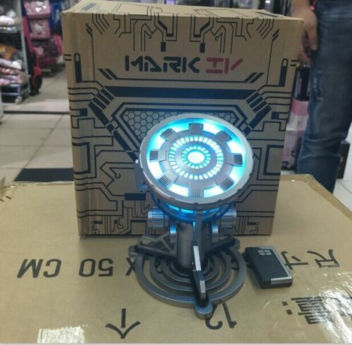 Iron Man Arc Reactor with LED Light Figure Legend 1:1 Scale Model MK43 Electric