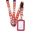 Christmas pattern Spirius Lanyard Neck strap /& choose ID card badge Holder