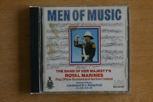 Men-of-Music-The-Band-of-Her-Majesty-039-s-Royal-Marines-Box-C625