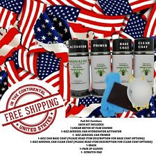 Hydrographic Water Transfer Hydro Dip Full Kit Activator United State Flag Film