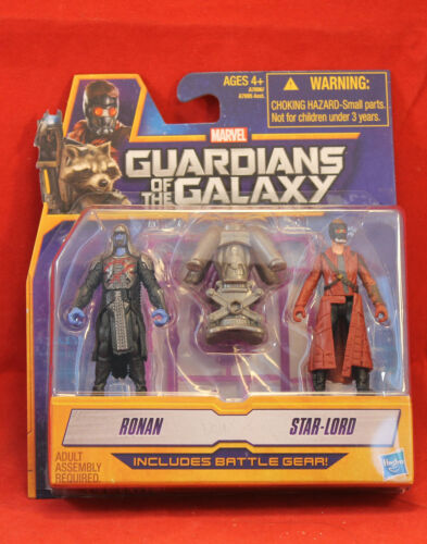"Mini Figures 2.5/"" Marvel Guardians of the Galaxy Star-Lord Ronan"