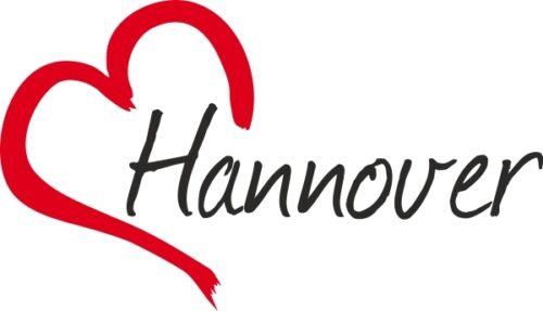 """Auto pegatinas /""""Hannover/"""" sticker ciudad Alemania aprox 9x16cm konturge."""