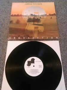 JUKKA TOLONEN - CROSSECTION 'PROMO' LP EX!!! ORIGINAL U.S JANUS HOOK TASAVALLAN
