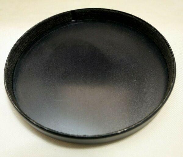 77.5mm Id Lentille Avant Casquette Slip Sur Type Plastique Noir Dissipation Rapide De La Chaleur
