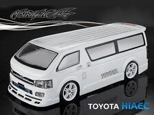 1/10 TOYOTA HIAEC 190mm RC Car Transparent Body Strong Polycarbonate