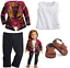 *NEW* American Girl ~ Saige/'s Doll Sweater Outfit /& Sandals~ Brand NEW