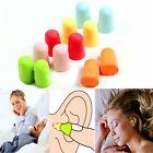 10 Pairs Memory Foam Soft Ear Plugs Sleep Work Travel Earplugs Noise Reducer