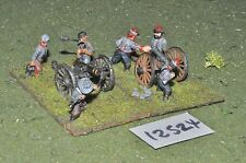 25mm american civil war ACW confederate 2 guns & crews (12524)