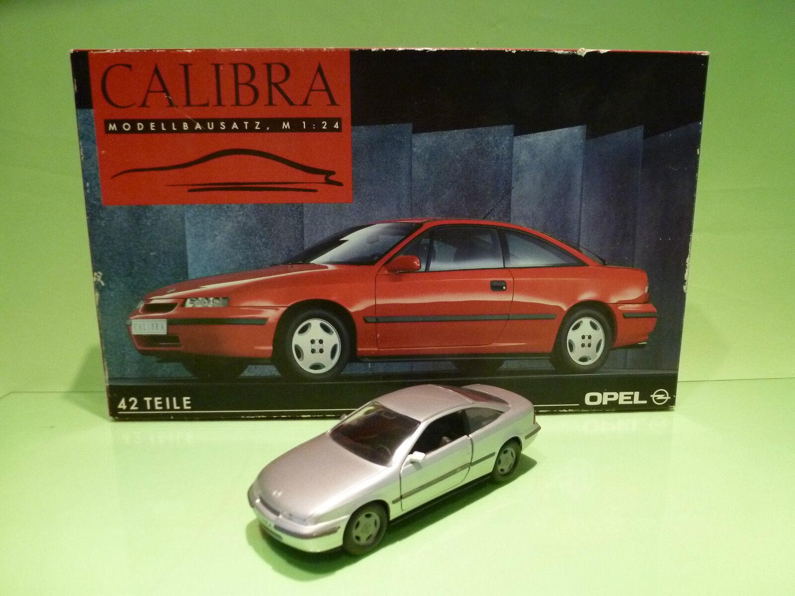 GAMA 2123 OPEL CALIBRA - BUILT METAL KIT - RARE - 1 24 - VERY GOOD IN BOX