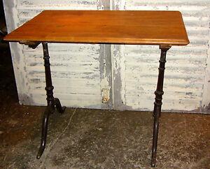 Esstisch Bistrotisch Balkontisch Gartentisch Tisch Tafel Eisentisch