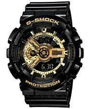 CASIO G SHOCK GA-110GB-1AER GOLD & BLACK X LARGE ANLOGUE & DIGITAL !BEST SELLER!