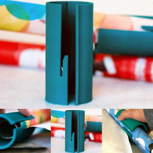 Sliding Wrapping Paper Cutter Roll Cutting Arts Package Paper Business Tool~