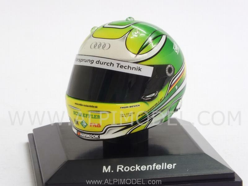 Helmet DTM Champion 2013 Mike Rockenfeller 1 8 scale - 3cm 1 8 SPARK HLM010