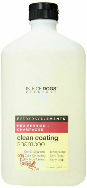 Clean Coating Red Berries Champagne Dog