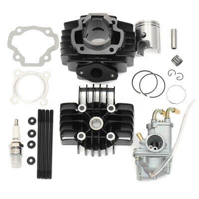 NewYall Carb Carburetor Cylinder Piston Ring Gasket Top End Kit for Yamaha PW 50 PW50