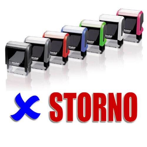 "Automatikstempel,2-farbigem Abdruck,Printy 4912,Stempelautomat /""STORNO/"" NEU!"