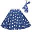 ROCK-N-ROLL-POLKA-DOT-SKIRT-21-034-Length-039-50s-GREASE-LADIES-FANCY-DRESS-COSTUME Indexbild 16