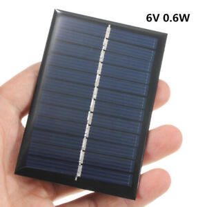 Portable-Mini-6V-1W-Solar-Power-Panel-DIY-For-Battery-Cell-Phone-Toys-Chargers