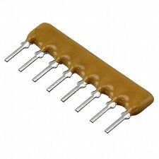 100 St.  Widerstands-Netzwerk  10K  4 Reihen  8 Pins  SIL8  0,2W  5%  NEU