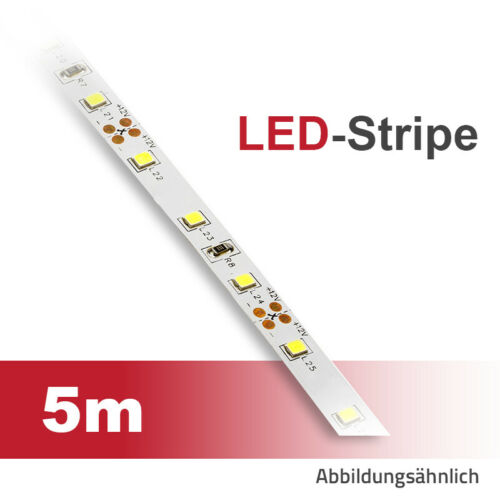 LED Stripe 5m Lichtband 6W//m 3200K//4000K//6500K