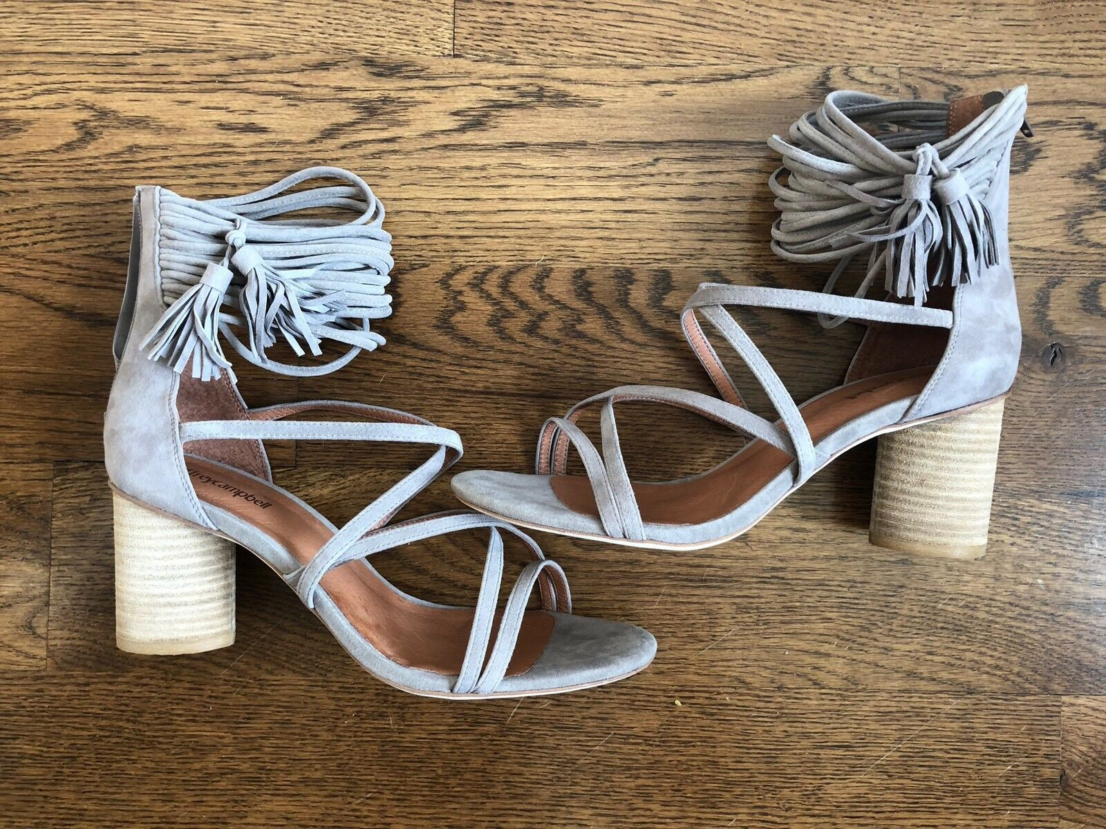 NEW Women's Jeffrey Campbell For For For Anthropologie Beige Hi Heels shoes Size 10 c8ce26