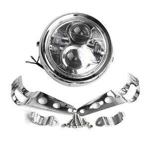 6-5-039-039-Moto-Phare-Projecteur-LED-Headlight-Lamp-Bracket-Pour-Jeep-Harley