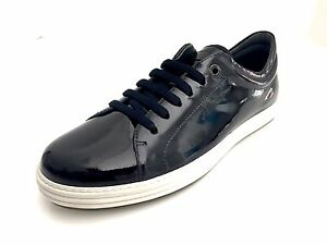 Image is loading Salvatore-Ferragamo-Newport-2-Mens-Leather-Tennis-Shoes- 86dadeaa66