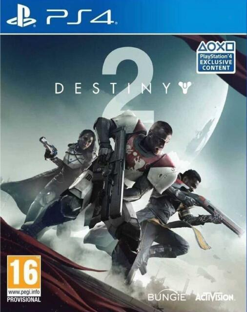 PS4 Game Destiny 2 (only Online Playable) New