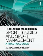RESEARCH METHODS IN SPORT STUDIES AND SP - SIMON DARCY A.J. VEAL (PAPERBACK) NEW
