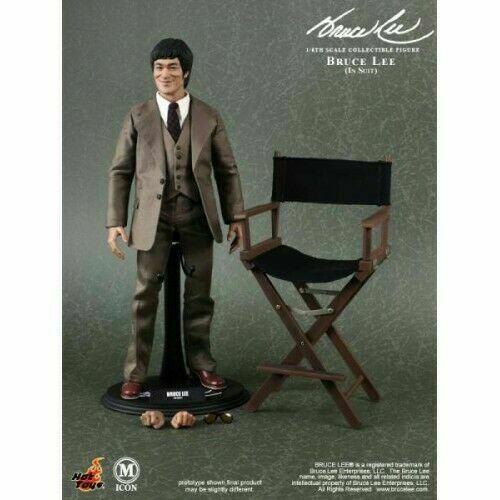 Vendedor de EE. UU. HOT TOYS 1 6 12  mis 11 M Icono Bruce Lee Suite Versión Figura De Acción