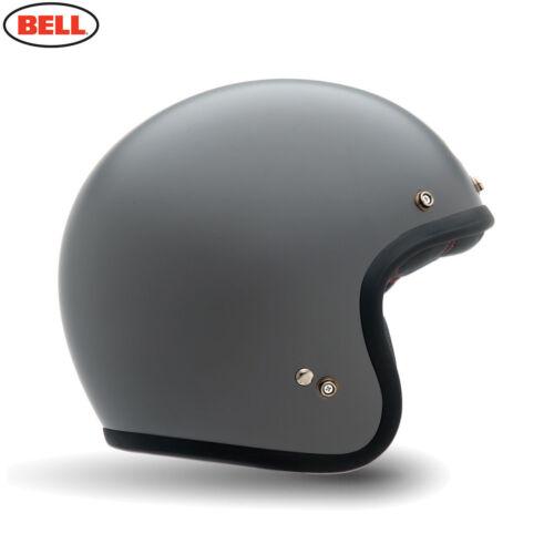 FREE CARRY BAG BELL CUSTOM 500 LOW PROFILE OPEN FACE VINTAGE MOTORCYCLE HELMET