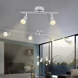 GU10 LED Deckenleuchte Wandlampe Wohnzimmer Deckenstrahler Lampe Deckenspot