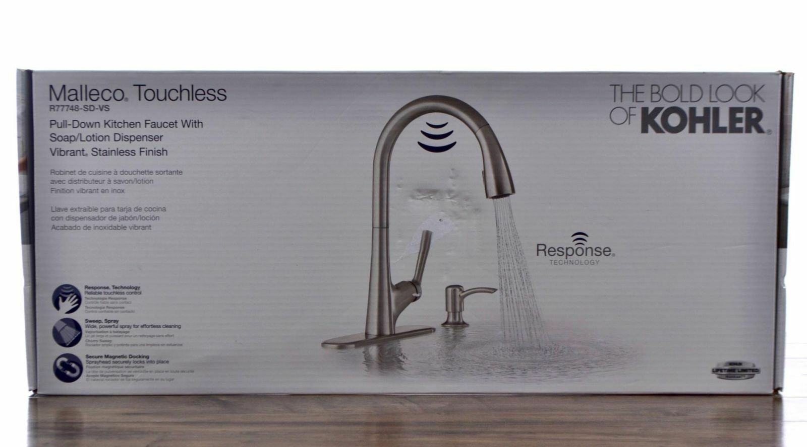 Kohler Malleco Touchless Kitchen Faucet R77748 Sd Vs