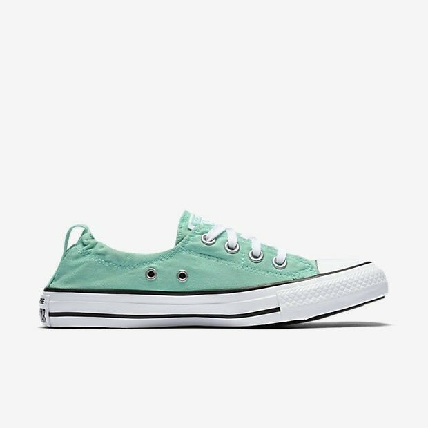 Women Converse Chuck Taylor AS Shoreline Slip, 556690F Mult Sizes Green Glow Whi