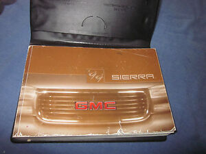 1999 gmc sierra owners manual set w case new style ebay rh ebay com 1997 GMC Sierra owners manual 1999 gmc sierra truck