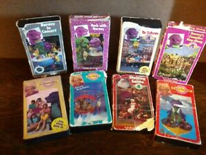 Original Barney And The Backyard Gang VHS Videos EBay - Barney backyard gang concert vhs