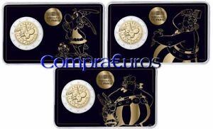 2-Euros-Conmemorativos-Francia-2019-ASTERIX-Coincards-BU