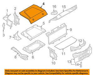 s l300 bmw oem 14 17 i8 interior rear engine cover 51477408656 ebay