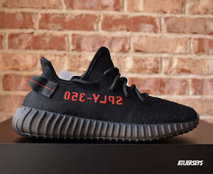 Adidas-Yeezy-Boost-350-V2-Core-SPLY-Black-Red-Size-CP9652